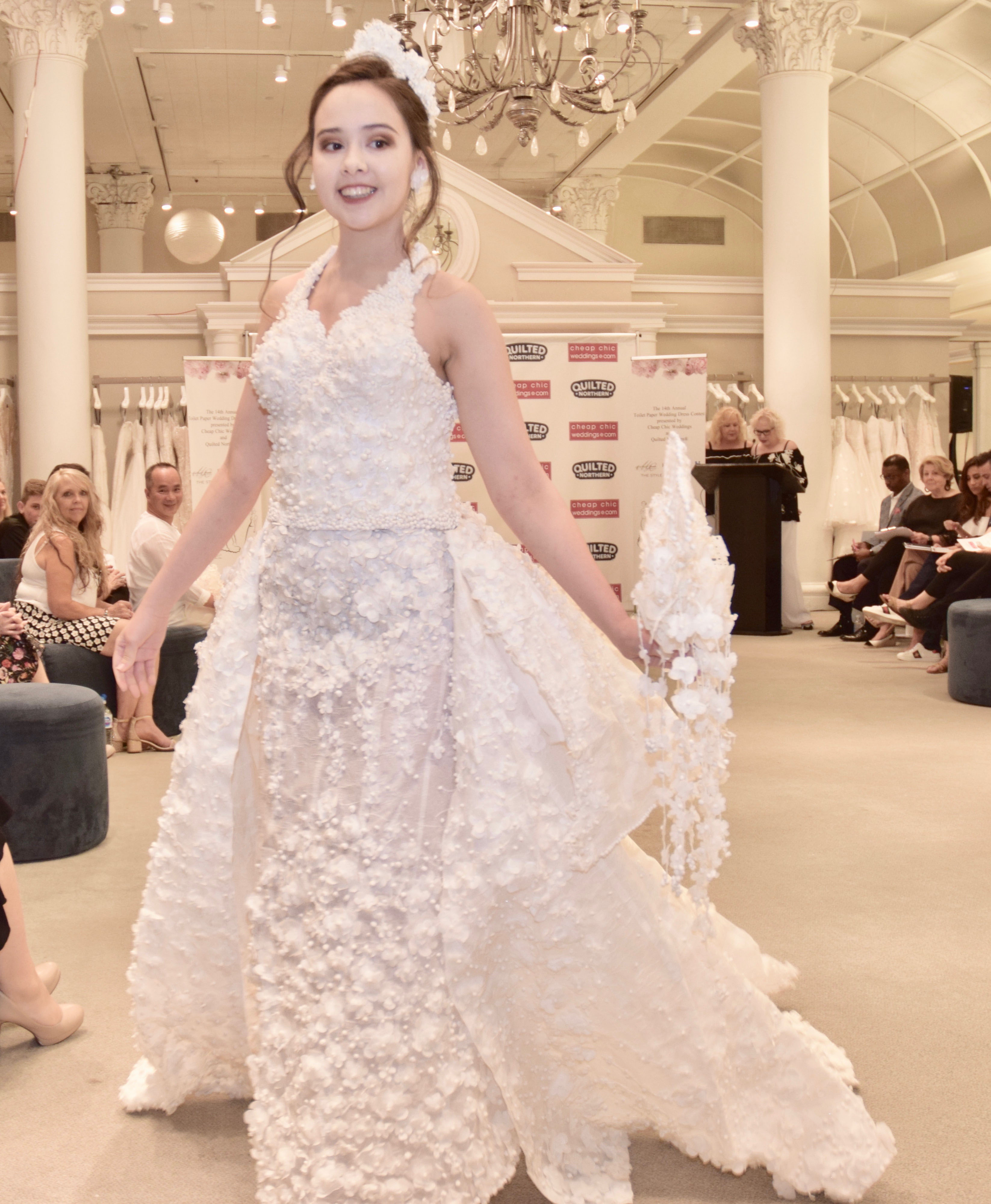 Dress Gowns For Weddings: The 2018 Toilet Paper Wedding Dress Contest