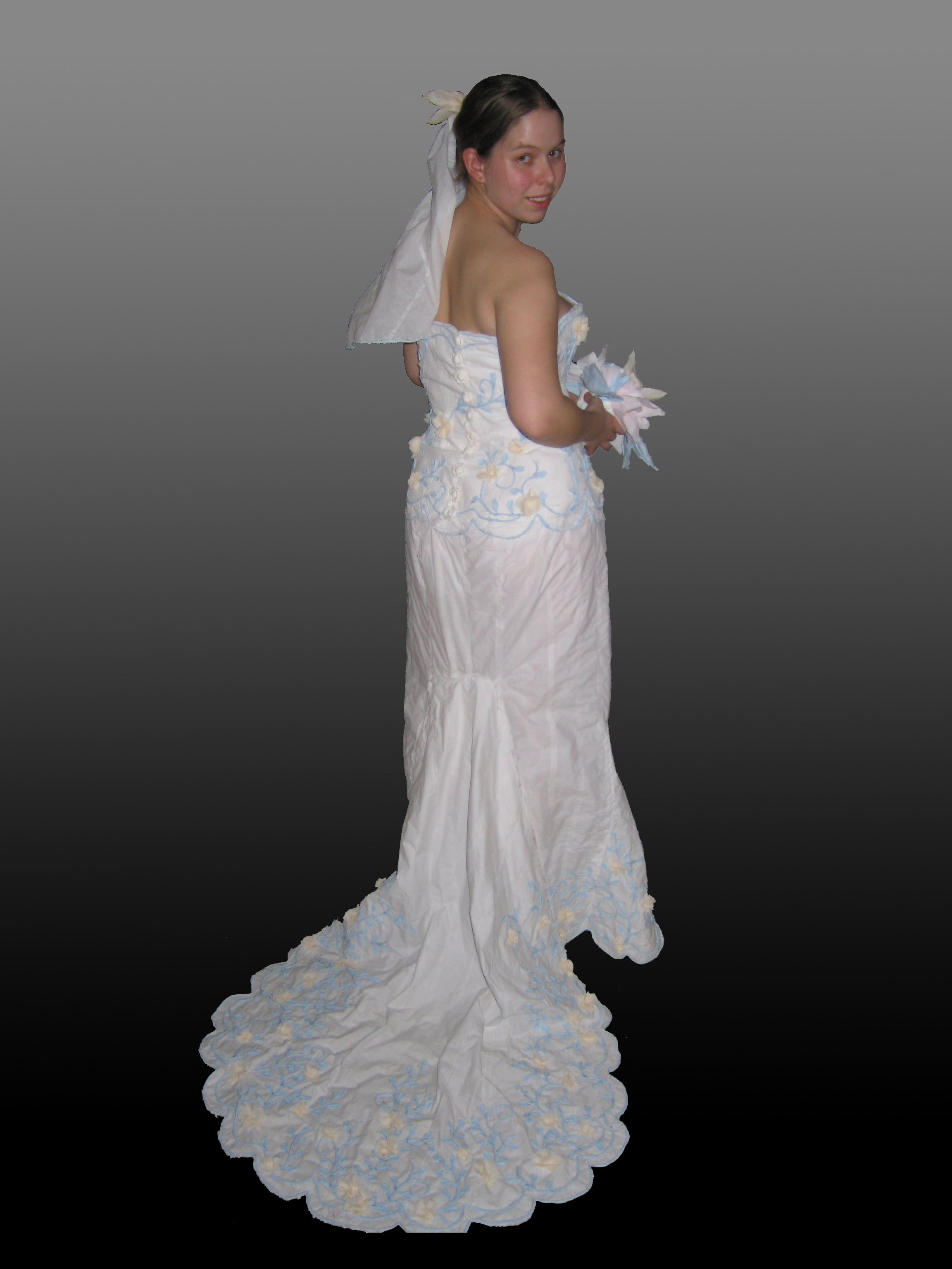 The 2005 toilet paper wedding dress contest for Toilet paper wedding dress 2017